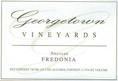 #fallsale #Georgetown Vineyards sits high atop a scenic ridge overlooking the city of Cambridge, Ohio. The winery is surrounded by 5 acres of vineyards. Our wine...