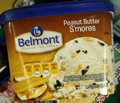 Belmont Peanut Butter S'Mores Ice Cream @ Aldi