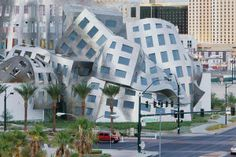 Happy 85th birthday to renowned architect Frank Gehry! Among his many unique and iconic high-profile projects is the Cleveland Clinic Lou Ruvo Center for Brain Health in downtown Las Vegas. Gehry has said he was inspired in part by a wadded up piece of newspaper in creating the sinewy design.