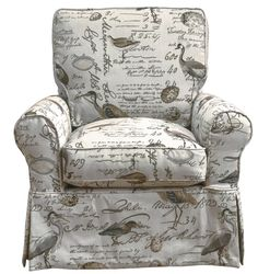 Rosecliff Heights Balhi Box Cushion Armchair Slipcover | Wayfair Armchair Slipcover, Swivel Armchair, Slipcovers For Chairs, Chair Cushions, Wingback Chair, Traditional Taste, Free Fabric Swatches, Upholstery Cleaner, Box Cushion