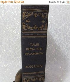 SALE Tales from the Decameron 1930 by Giovanni Boccaccio
