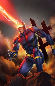 CyberWolf, Cyclops Fan Art - (X-Men Fan Art) Cyclops by...