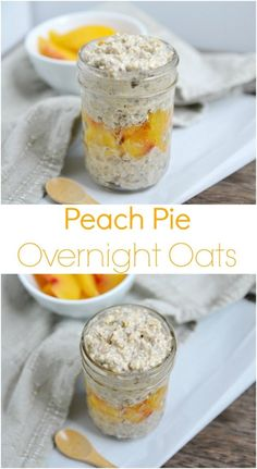 40 Best Overnight Oats Recipes to Boost Your Mornings! 40 Best Overnight Oats Recipes to Boost Your Mornings!Power your mornings with a flavor explosion. Here are 40 of the best overnight oats re Peach Overnight Oats, Dairy Free Overnight Oats, Overnight Breakfast, Healthy Overnight Oats, Best Breakfast, Healthy Breakfast Recipes, Breakfast Ideas, Vegan Breakfast, Yogurt Breakfast
