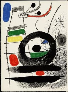 View Ren Char, Le Chien de Coeur, GLM, Paris, 1969 By Joan Miró; Access more artwork lots and estimated & realized auction prices on MutualArt. Spanish Painters, Spanish Artists, Abstract Expressionism, Abstract Art, Joan Miro Paintings, Time Painting, Wassily Kandinsky, Oeuvre D'art, Lovers Art