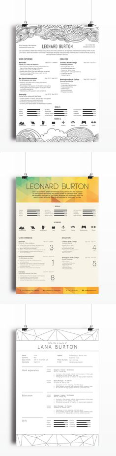 Outstanding Resumes Impressive Resume On Behance  Infographic Resume Design Layouts And Behance