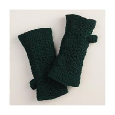 Cost Plus World Market Green Crochet Wool Gloves ($9.99) ❤ liked on Polyvore featuring accessories, gloves, crochet gloves, cost plus world market, wool gloves, green gloves and woolen gloves