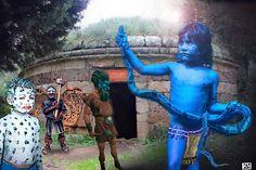 Charun-supay y el portal del inframundo (nueva manifestación del niño azul)