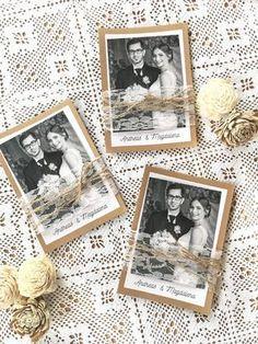 DIY - Anleitung für Dankeskarten zur Hochzeit im Vintagestil DIY Tutorial - how to make thank you cards for your vintage wedding