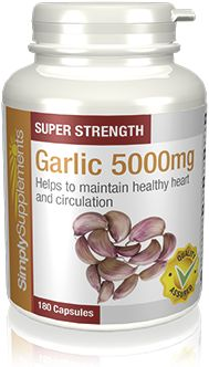 360 Capsule Tub - garlic tablets