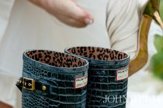 Jimmy Choo Hunter wellington boots