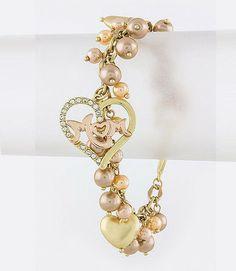 I Heart Mom Charm Bracelet | Glit-Z