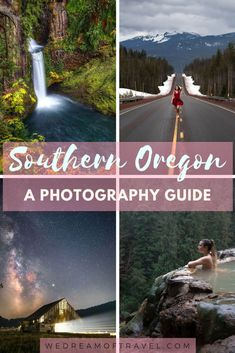 This photography guide will help you find the most beautiful places in Southern Oregon. From waterfalls to the coast to mountains. Oregon has it all! Add these photogenic places to your Oregon bucket list! Oregon Road Trip, Oregon Travel, Michigan Travel, Arizona Travel, Usa Travel Guide, Travel Usa, Travel Tips, Photography Guide, Travel Photography