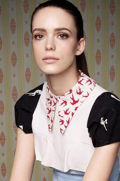 Stacy Martin: Face Of Miu Miu Eau De Parfum (Vogue.co.uk)