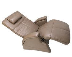 PC-085 Electric Recline Transitional Perfect Chair Recliner and Manual PC-8 Perfect Zero Gravity Chair by Human Touch - Zero Gravity Classic II ergonomic orthopedic recliner chair. The zero gravity position cradles your back and elevates your legs above your heart, which is the position that doctors recommend as the healthiest way to sit.
