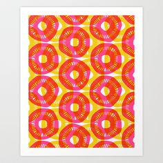 Sunshine Art Print by Allison Holdridge - $18.00