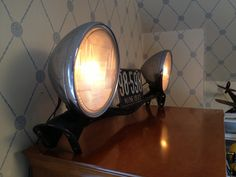 #Headlight Lamp from the 1928 Essex car