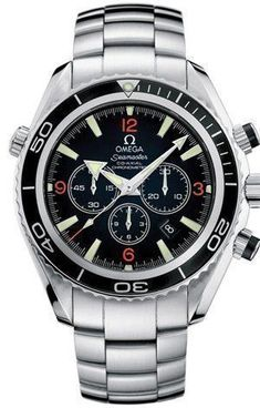 Omega Men's 2210.51.00 Seamaster Planet Ocean Automatic Chronometer Chronograph Watch for only $5,295.00 You save: $905.00 (15%) - mens gold watches, hublot watches, mens bracelet watches *ad #Omegawatchforwomen #menswatchesomega