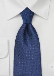 Krawatte Pünktchen blau günstig kaufen