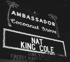 Hollywood nightclubs & restaurants  Coconut Grove nightclub's Marquee