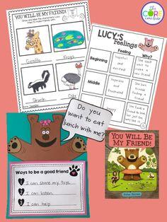 You Will Be My Friend Lesson plans