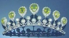 Queen Maud's Peridot and Diamond Tiara, Norway