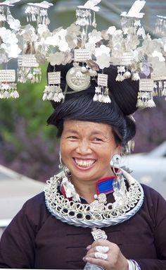 China | Miao folk costume | ©unknown