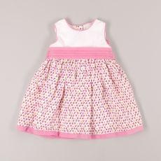 81b9cd4ca Vestido de flores marca Anavig (talla 6 meses). Quiquilo · Moda para niñas  ...