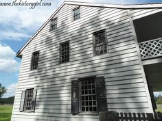 Rockingham was General George Washington's final Revolutionary War headquarters for about two and a half months in 1783, while the Continental Congress was meeting in Princeton. The home was built in 1710 and enlarged in 1760. Find out more at www.thehistorygirl.com