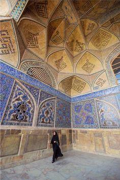 Photos of Iran's artistic architecture!