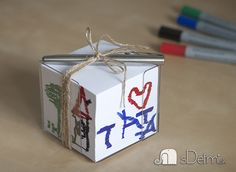 blok papierov darcek Crafts For Kids, Decorative Boxes, Container, Gift Wrapping, Gifts, Home Decor, Crafts For Children, Gift Wrapping Paper, Presents