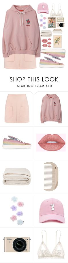 """""""Untitled #1"""" by mellquiades ❤ liked on Polyvore featuring See by Chloé, Minna Parikka, Frette, HAY, Monsoon, Forever 21, Nikon and Hanky Panky"""