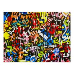 Graffiti Theme Party Planning, Ideas & Supplies - Create an urban edginess to your party -- consider a graffiti theme celebration Graffiti Bedroom, Graffiti Murals, Bar Mitzvah Party, Bat Mitzvah, Hip Hop Party, Yearbook Covers, Party Themes, Party Ideas, Theme Ideas