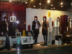 decoración escaparates #escaparatismo#outfits#burdeos#looks