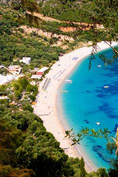 Lichnos Beach, Greece that's it! I've made up my mind, Greece for my honeymoon!! now where's my groom?