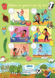 GEZONDHEID / VOEDING: Lessenpakket VLAM Gratis lespakketten over land- en tuinbouw per leerjaar, ook voor kleuters.