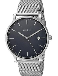 072bb950a32 Shop for Skagen Men s  Hagen  Grey Stainless Steel Watch. Get free delivery  at Overstock - Your Online Watches Store!