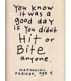 a good day....life of a preschool teacher