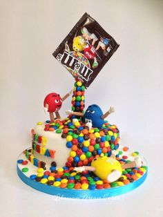 M&Ms for Frankie - Cake by Blossom Dream Cakes - Angela Morris