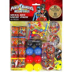 "Power Rangers Megaforce Favor Set - 48 Pack - Costume Super Center - Toys ""R"" Us"