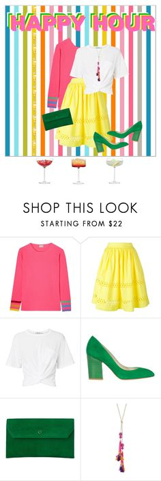 """Drinks on me"" by nicolineb ❤ liked on Polyvore featuring Orwell + Austen, Alice + Olivia, T By Alexander Wang, Karen Millen, L.K.Bennett, Robert Rose and LSA International"