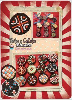 Tartas, Galletas Decoradas y Cupcakes: Galletas Oreo Variadas