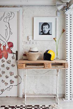 O trabalho desse cara é demais! Fotógrafo especialista em decoração,Manolo Ylleraarrebata nossos pobres coraçõezinhos com esse maravilhoso loft. A atm