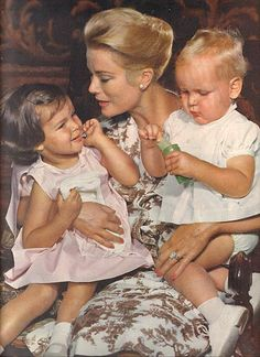 Princess and Mother Grace Kelly