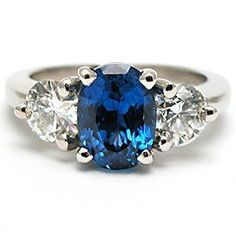 sapphire engagement ring - - A girl can dream. But it's not the ring that's important. <3. It would have to be amethyst instead