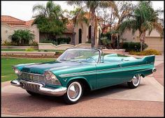 1957 Plymouth Belvedere Convertible. Sweet