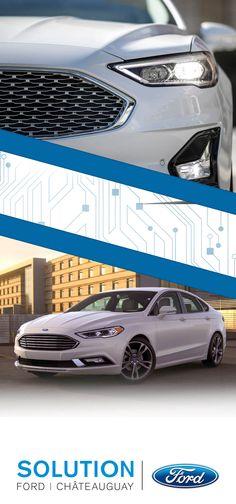 Découvrez la Ford Fusion 2019, bientôt disponible chez Solution Ford à Châteauguay! Ford Fusion, Solution, Bmw, Budget