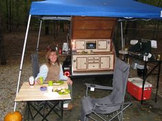 Camping in Louisiana. Teardrop Camper Trailer, Camper Trailers, Trailer Plans, Rv Trailer, Camper Parts, Woody, How To Plan, Big, Camping
