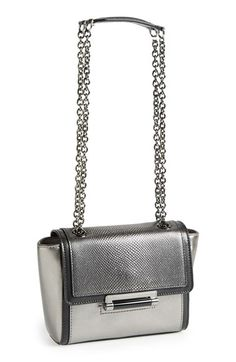 Diane von Furstenberg  Mini 440 Caviar  Leather Crossbody Bag  37f69f8492ffa