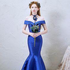256789245 Las 14 mejores imágenes de Vestidos Azul Real