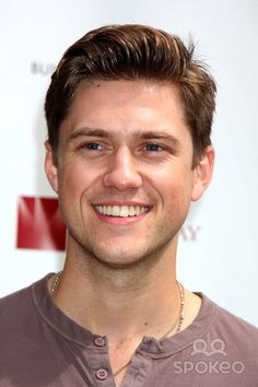 Aaron Tveit from les miserable just smiling away not understanding his impact on people. Fine.